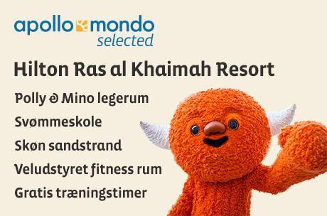 Familieferie i Dubai til Hilton Ras al Khaimah