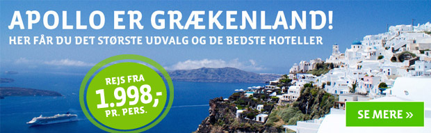 Se alle vores rejsemål i Grækenland