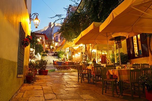 Storbyferie i Athen