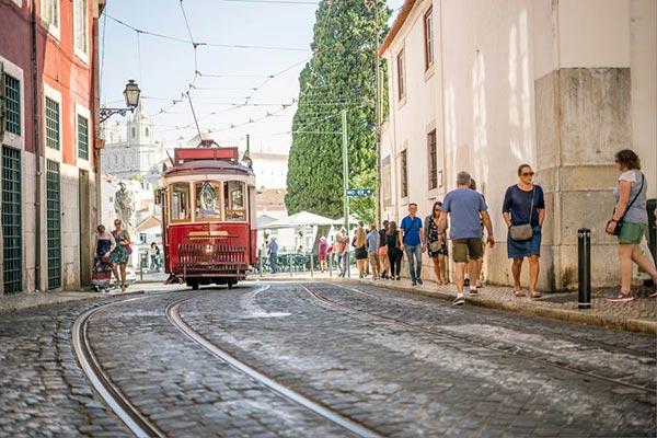 Storbyferie i Lissabon