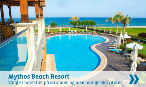 Rhodos favorit - hotel Mythos Beach Resort