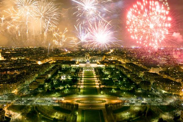 Nytår i Paris