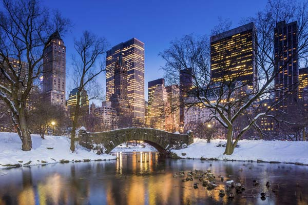 Julemarked i New York