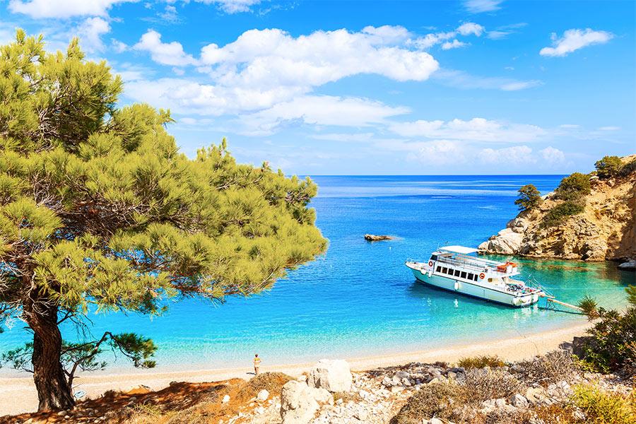 Ægte græsk atmosfære
