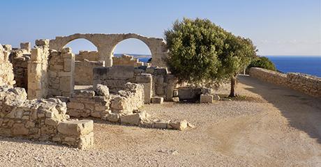 Kourion på Cypern
