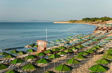 Strande i Bulgarien