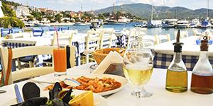 Mad og drikke på Kalymnos