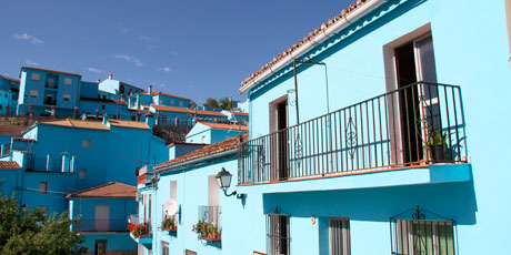 Smølfernes by i Malaga