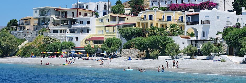 Smukke strande på Kalymnos